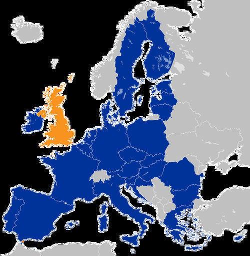 UK location in the EU